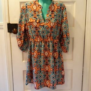 Justify large summer dress